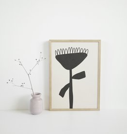 SILVIA VISSCHER Poster   flower