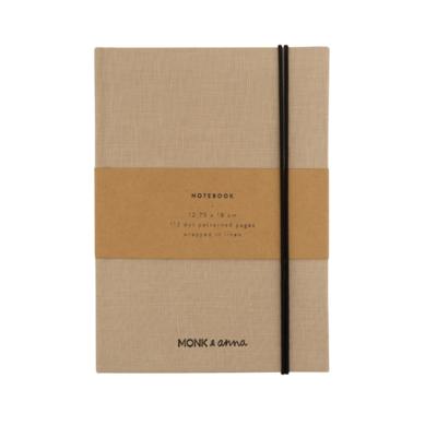 MONK & ANNA notebook S | linen