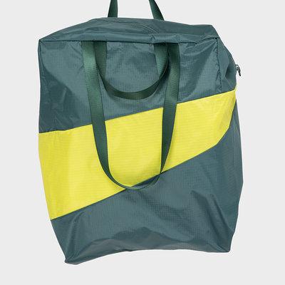 SUSAN BIJL SUSAN BIJL TRASH & STASH Stash Bag Pine & Fluo Yellow