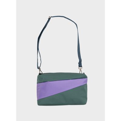 SUSAN BIJL SUSAN BIJL TRASH & STASH Bum Bag Pine & Lilac Medium