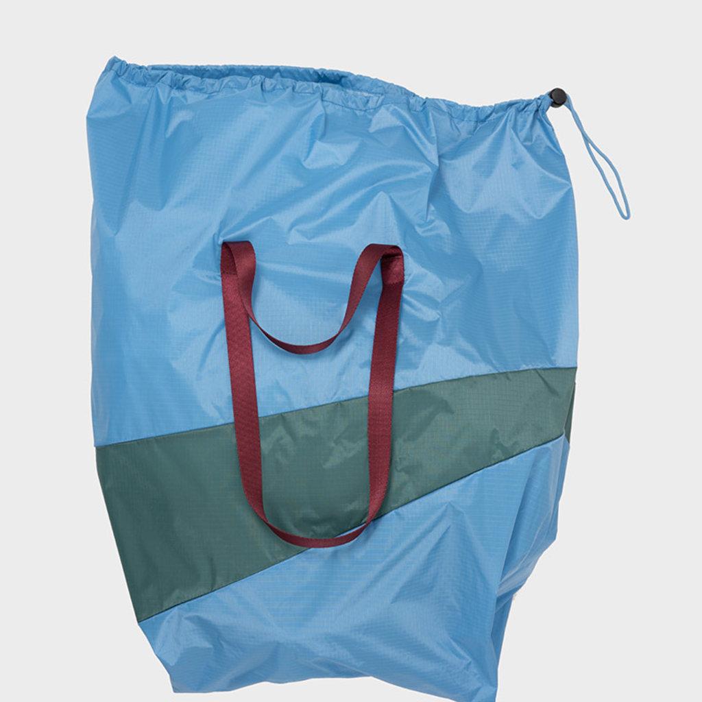 SUSAN BIJL SUSAN BIJL TRASH & STASH Trash Bag Sky Blue & Pine