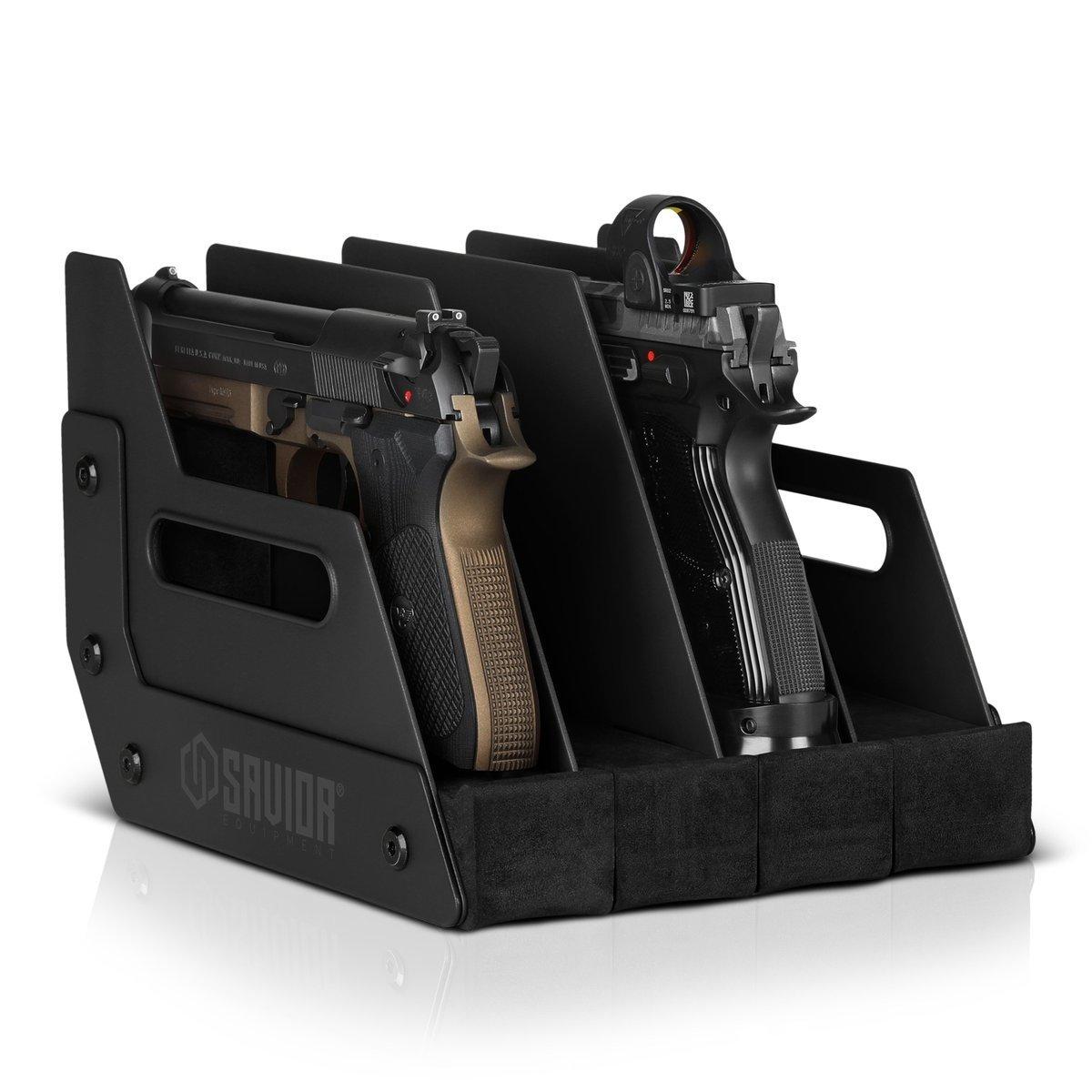 Savior Equipment Savior 4-Slot Pistol Rack