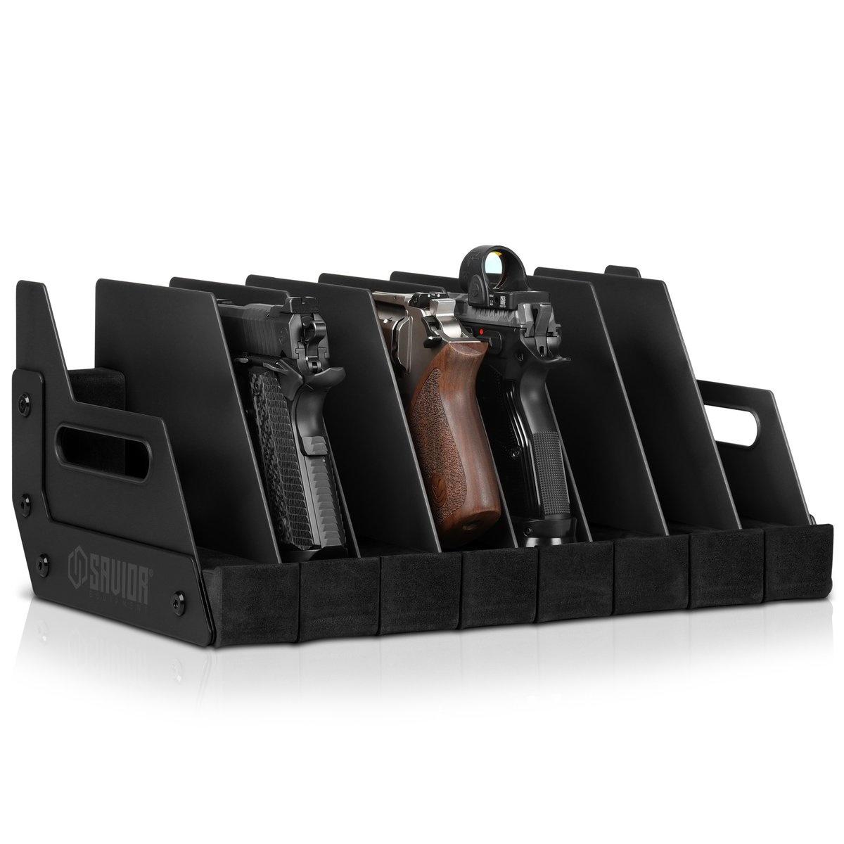 Savior Equipment Savior 8-Slot Pistol Rack
