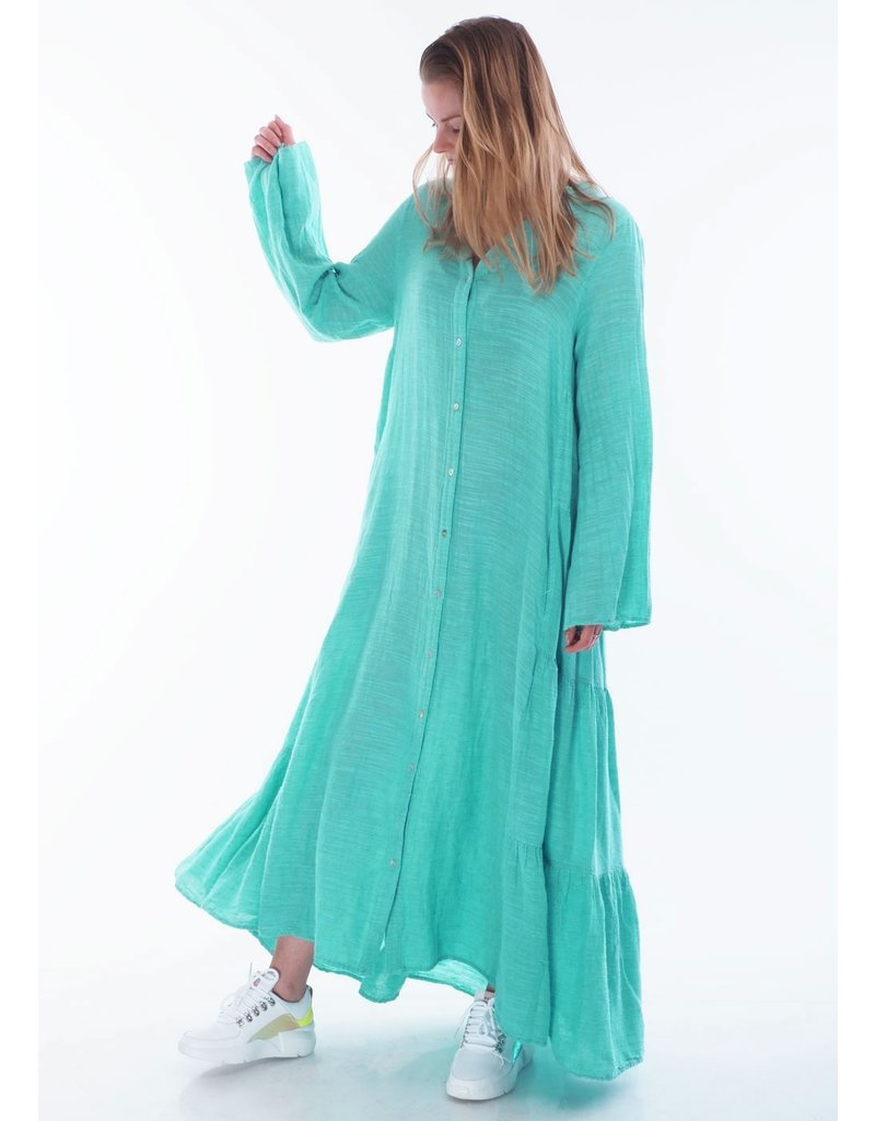 Devotion Dress long Ismini Mint