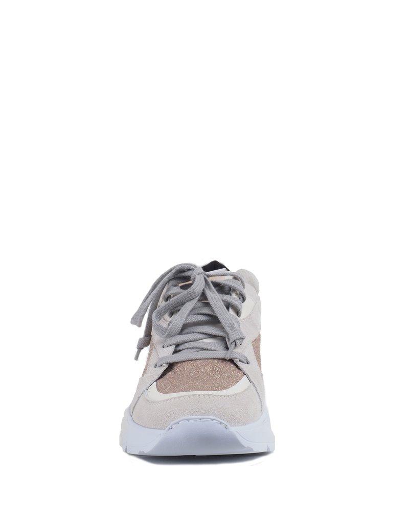 P448 Beige Glitter Sneaker