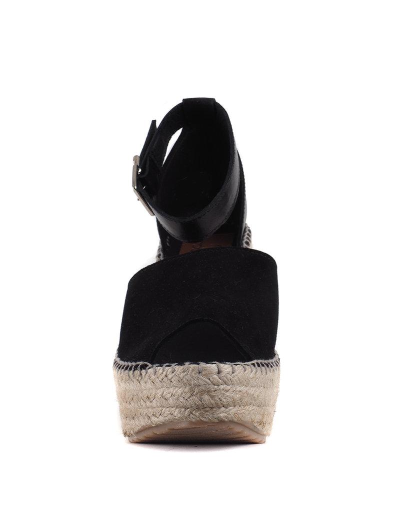 Goosecraft Sandaal Zwart met Sleehak