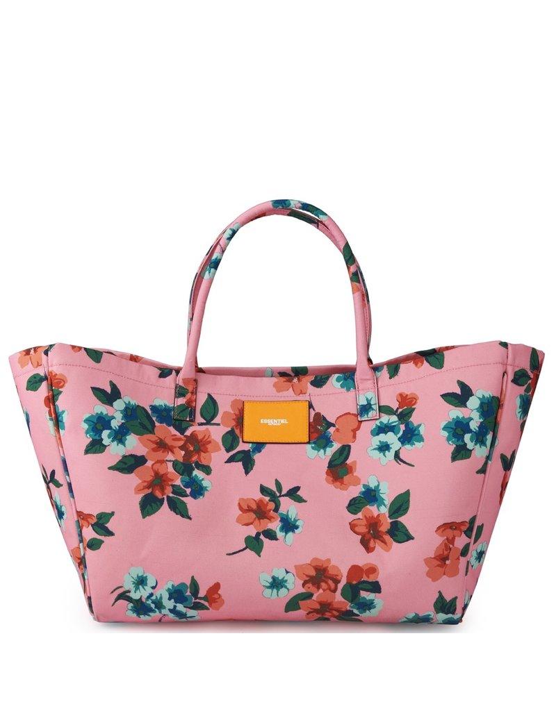 Essentiel Bag Venerife flower print roze