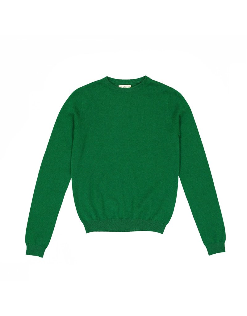 People's Republic of Cashmere Pull roundneck groen