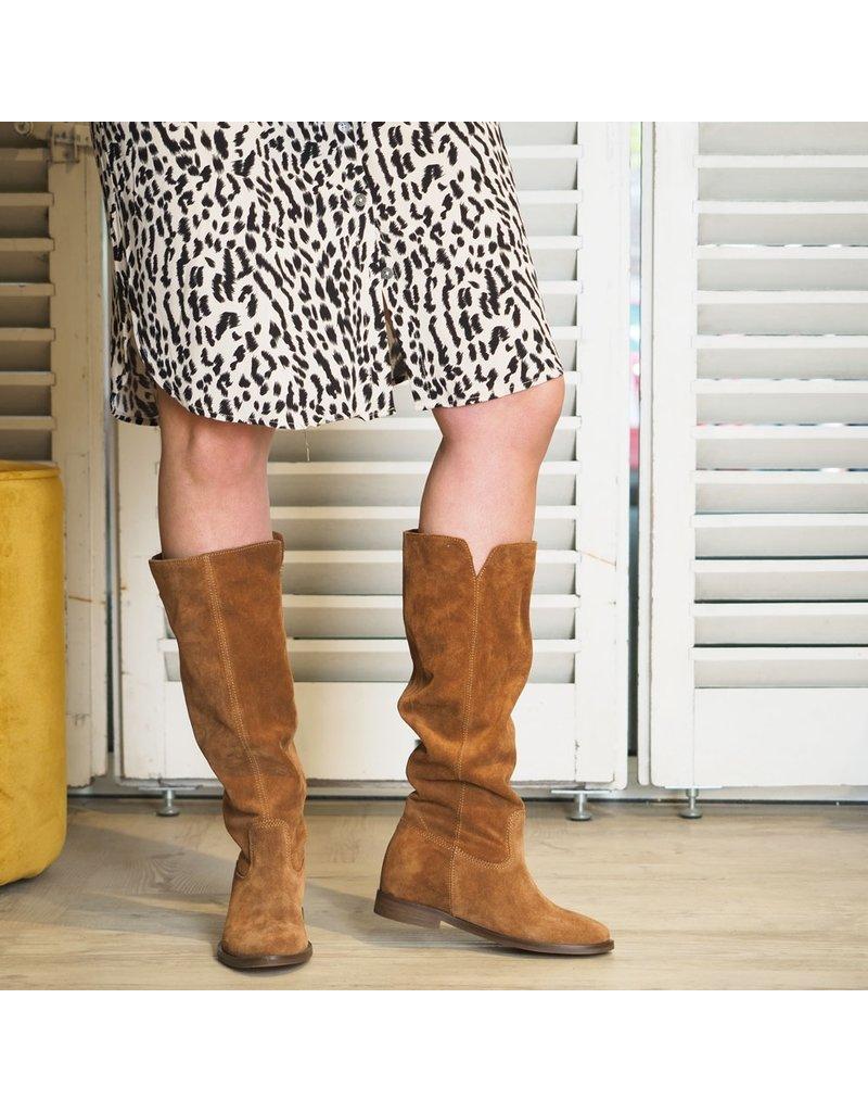 Carmens Boot high Goldphin Bruin