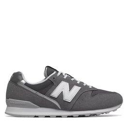 New Balance Grijze Suede Sneaker WL996