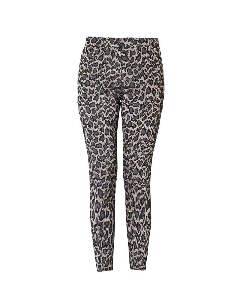 Fiveunits Pants Angelie 604 leopard