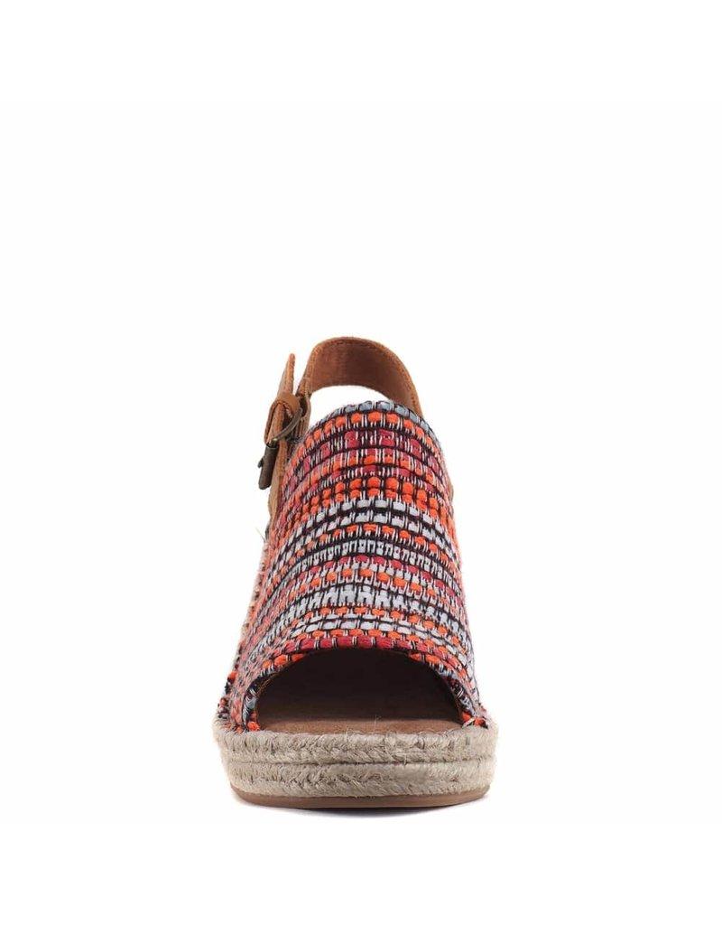 Toms Sandaal met sleehak