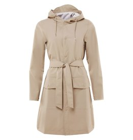 Rains Jacket belt beige