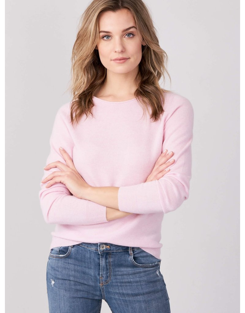 Repeat Pull 100% cashmere roze