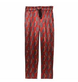 Leon & Harper Trouser Plume Rood