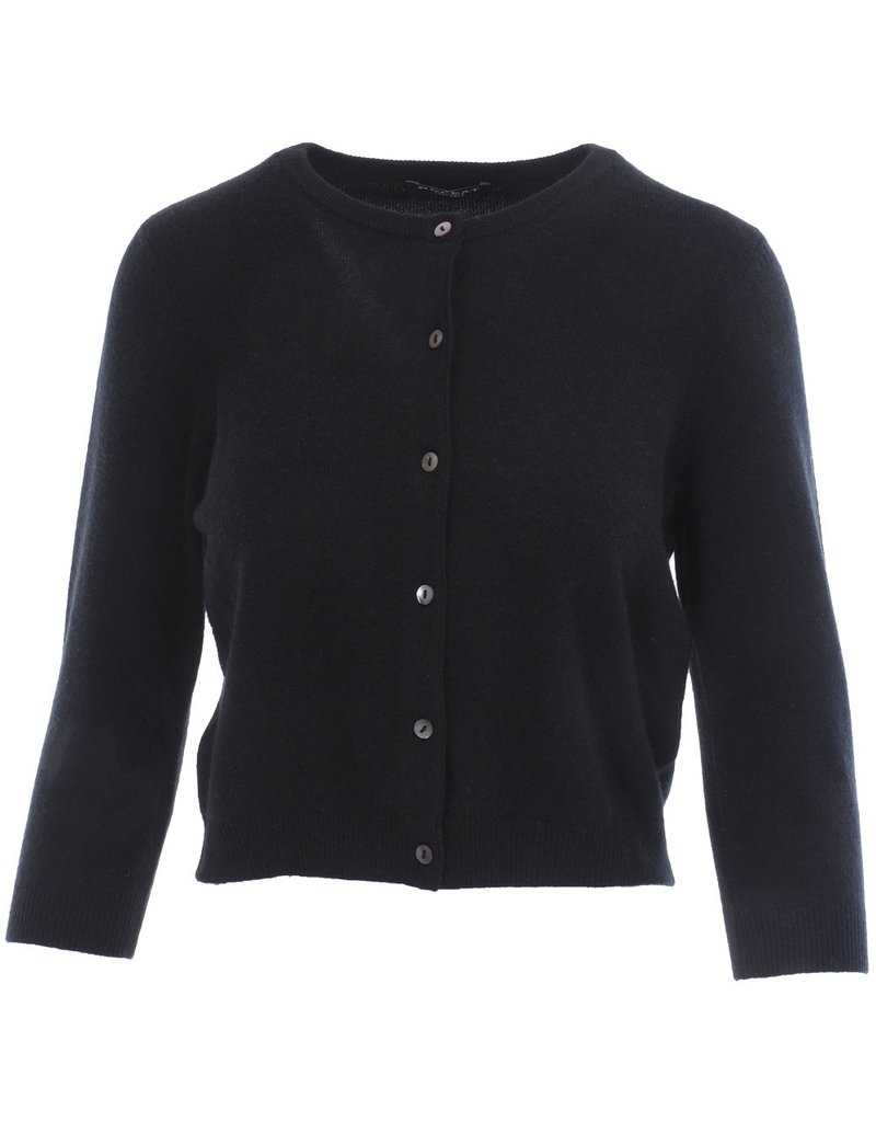Repeat Cardigan 100% cashmere zwart