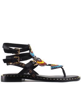 Ash Zwarte Sandaal Peru