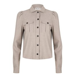 Ruby Tuesday Blouse taupe/lichtgrijs