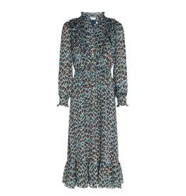 Fabienne Chapot Dress Fia Peacock
