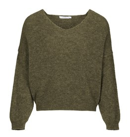 By-Bar Pullover Sofie Groen