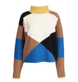 Essentiel Essentiel Pullover Wox colour blocks
