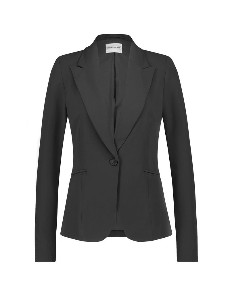 Penn&Ink Blazer Boston Zwart