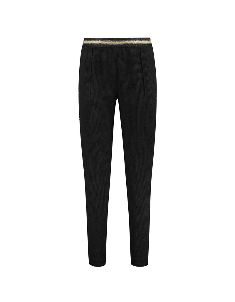 Pom Amsterdam Pants Black night by Katja