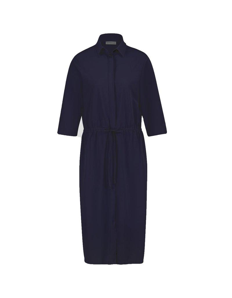 Penn&Ink Dress donkerblauw