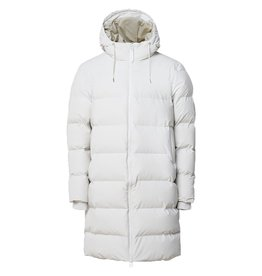 Rains Long Puffer Jacket Wit