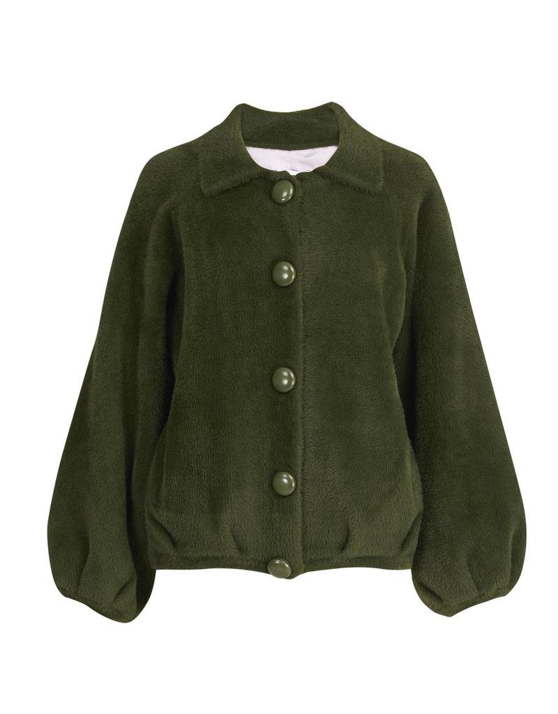 Essentiel  Cardigan Wes soft groen