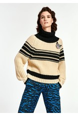 Essentiel Pullover Weyond stripes ribs