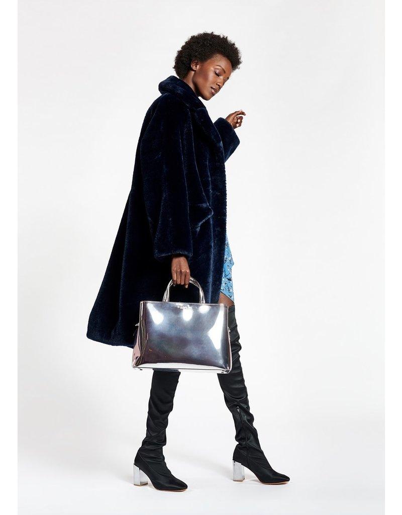 Essentiel Bag Walvin mirror effect ZILVER