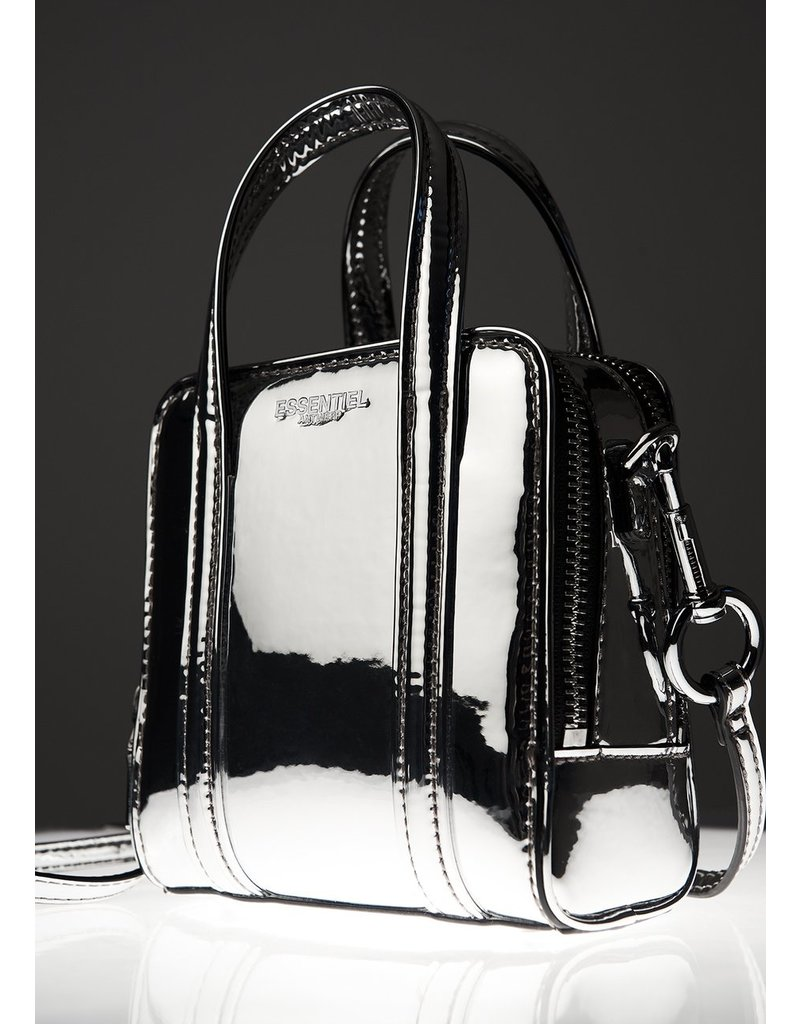 Essentiel Bag Winifred mirror effect ZILVER