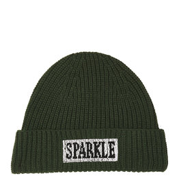 Essentiel Hat Wacap beads embo groen