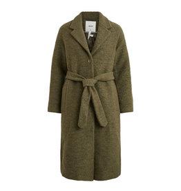Object Coat long Robina Groen