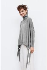 Rabens Saloner Pull Glennova split knit Grey