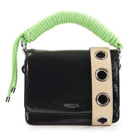 Essentiel Bag Wojack cord detail Zwart