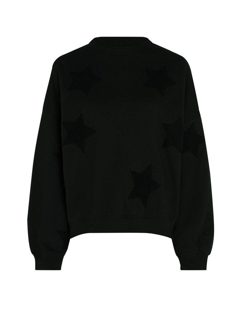 Fabienne Chapot Zwarte trui sterren