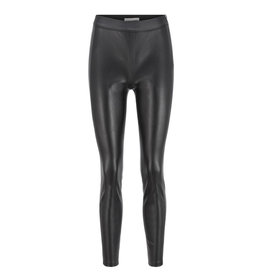 Hugo Boss Leather look trousers Talegy zwart