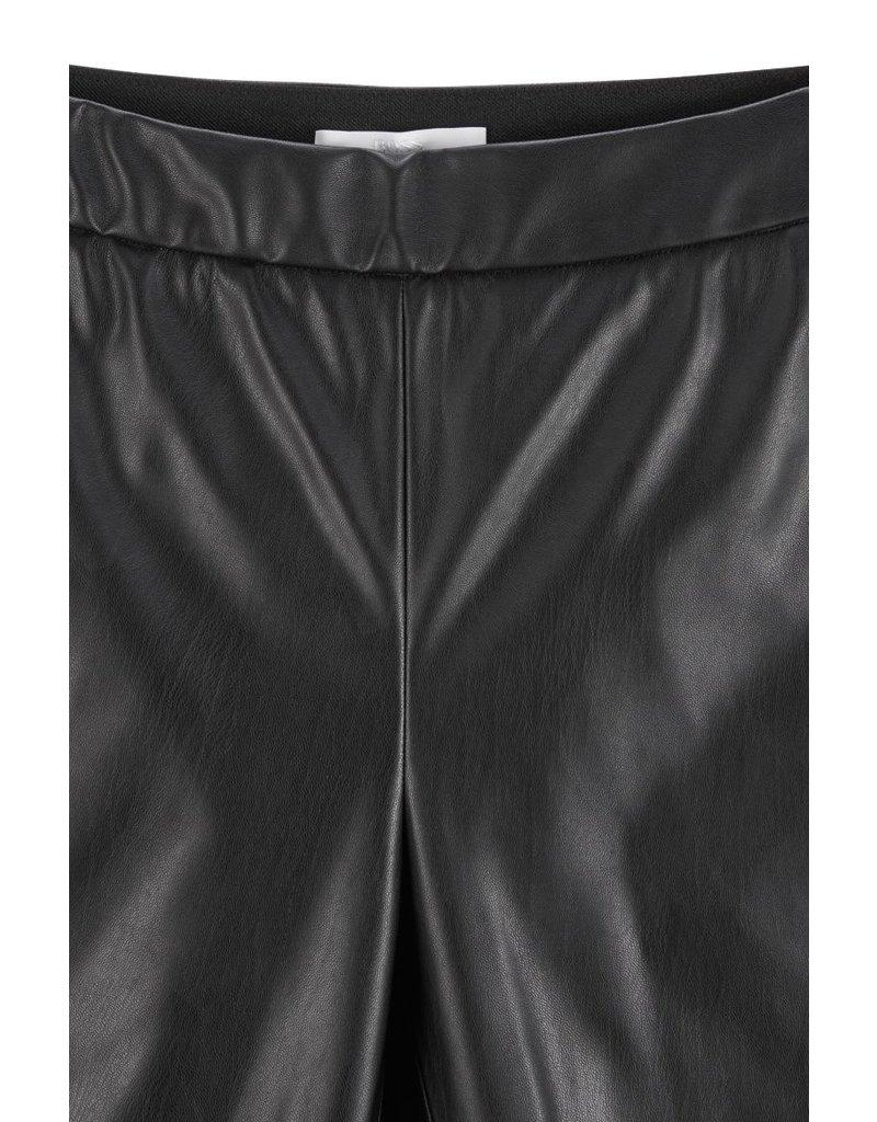 Hugo Boss Leather look trousers Talegy zwart