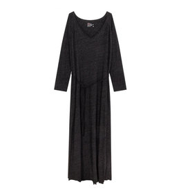 Leon & Harper Dress Ravela Anthracite