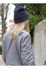 Penn&Ink Blazer ruit grijs