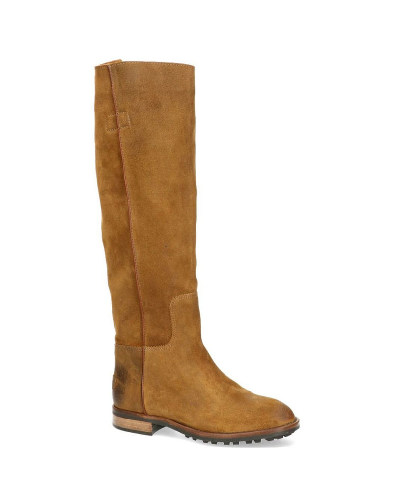 Shabbies Boot waxed suede bruin
