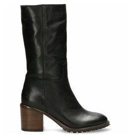 Shabbies Boot shiny grain zwart