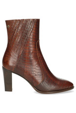 Fred de la Bretoniere Ankel boot printed leather