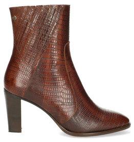 Fred de la Bretoniere Ankel boot printed leather