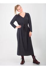 Leon & Harper Dress Ravela Anthracite