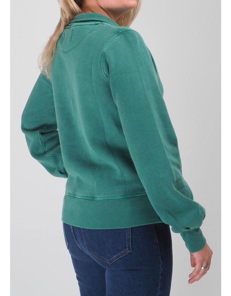 Leon & Harper Sweat shirt long sleeve groen