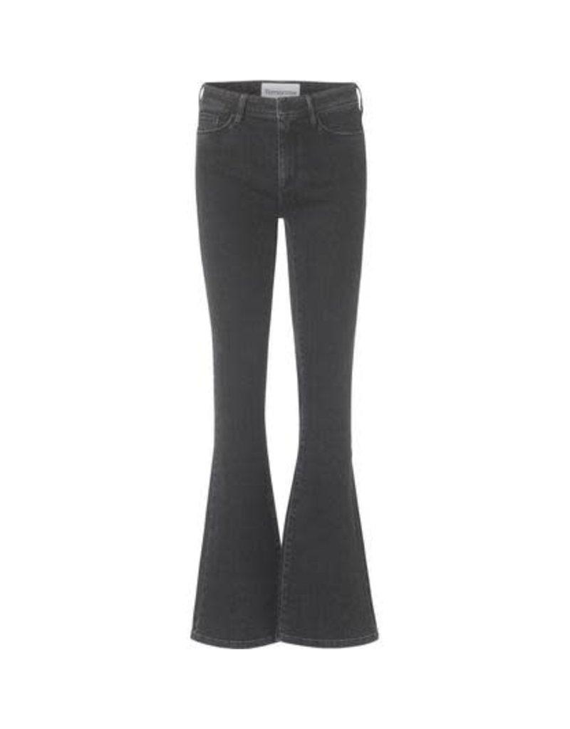 Tomorrow Albert flare jeans off-black