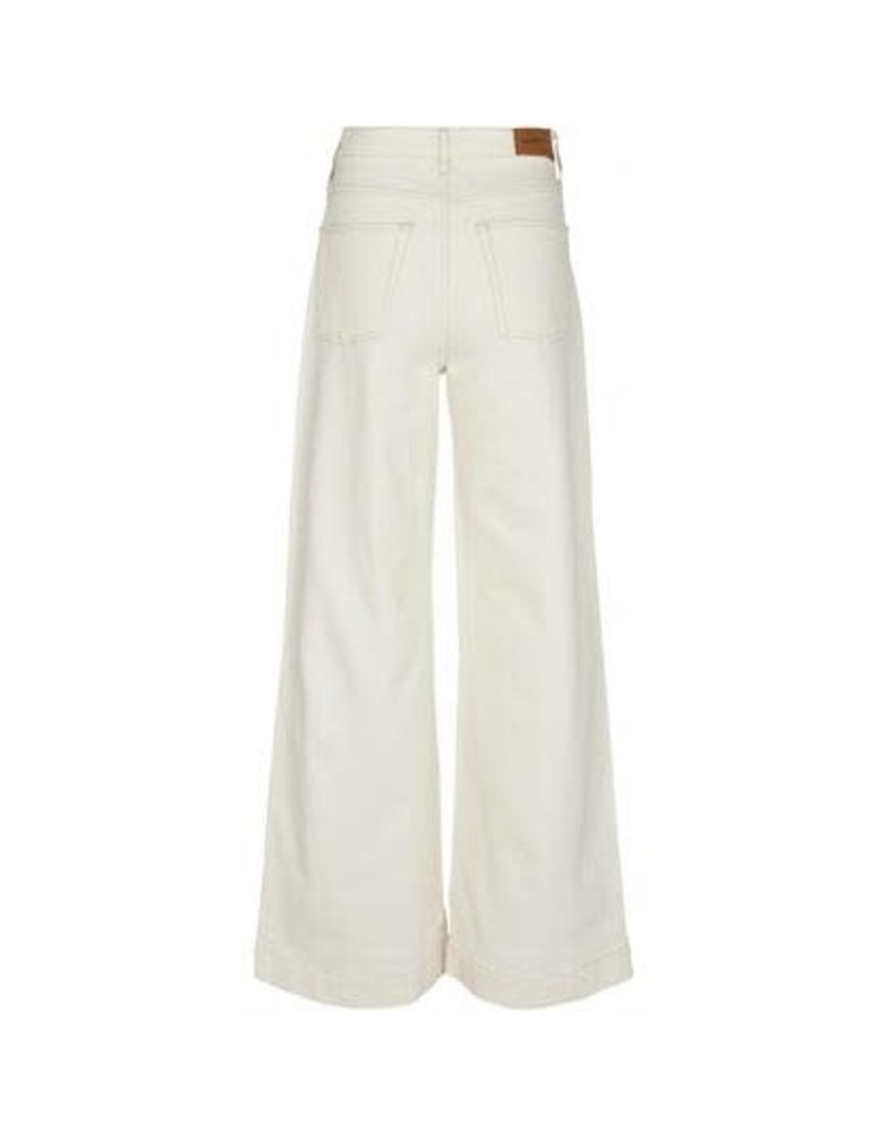 Tomorrow Kersee flare jeans off-white